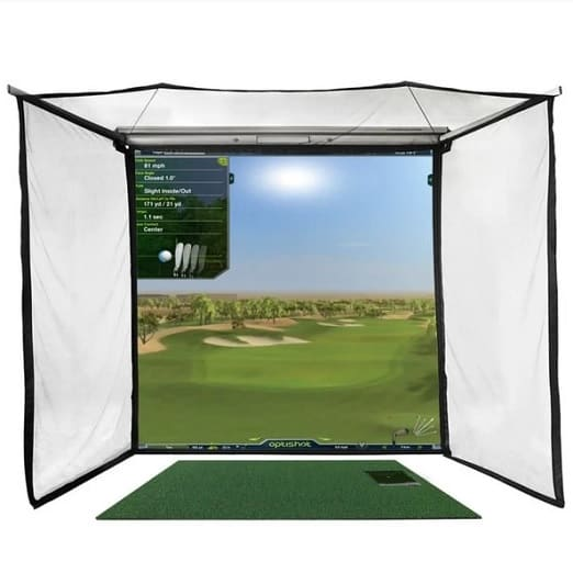 OptiShot 2 Golf In A Box Pro Simulator
