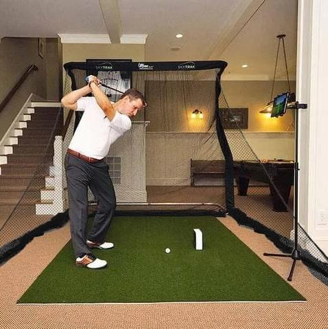 SkyTrak Practice Golf Simulator