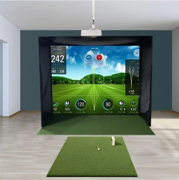SkyTrak SwingBay Golf Simulator